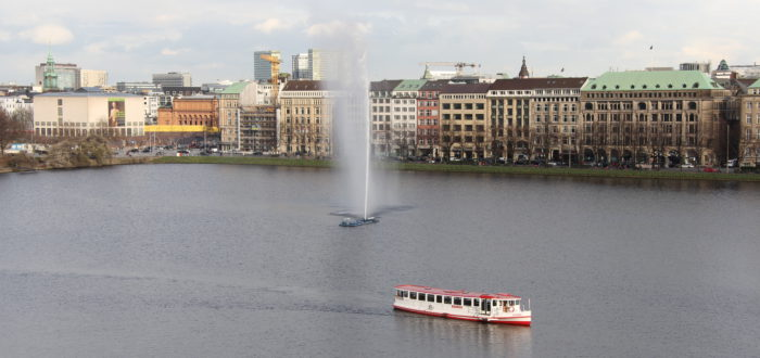 Fairmont Hotel Vier Jahreszeiten Hamburg Suite View